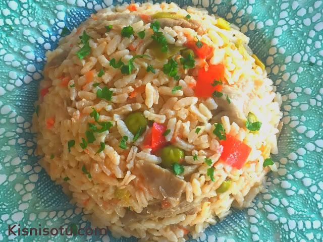 Mantarlı pilav tarifi, Pilav tarifleri, Pilav, Yemek