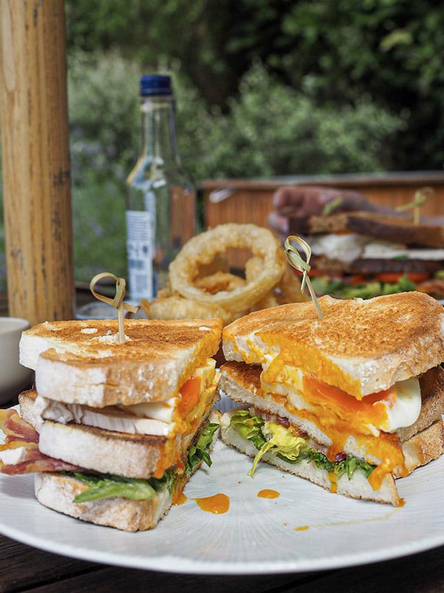 Foxhill Manor club sandwich