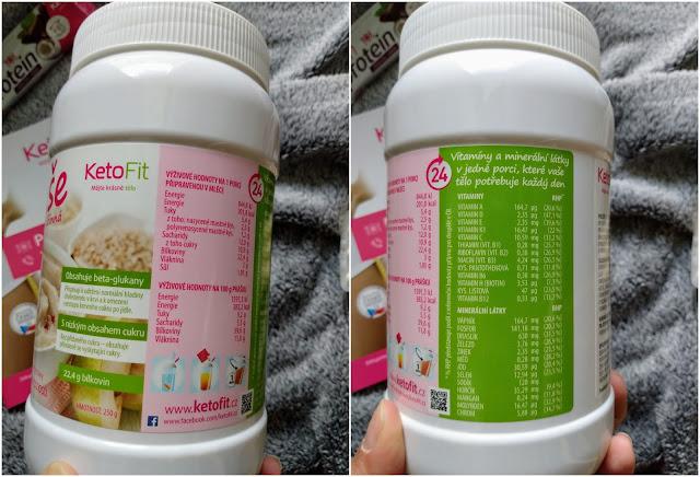 kase s vlakninou, snidanova kase s vitaminy, ketofit