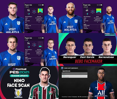 PES 2021 MiXed Facepack 86