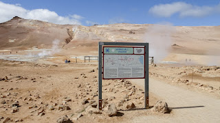 Hverir is a geothermal area