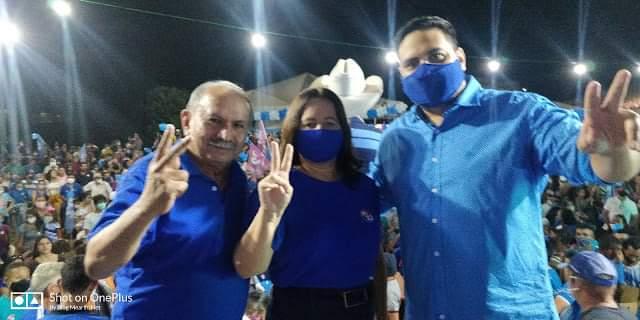 Milhares de eleitores comparecem na mega convenção de Viliane Costa em Olho D'água das Cunhãs