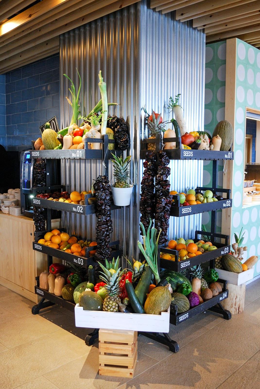 Sol Beach House Menorca Spain Melia Hotel fruit cart buffet