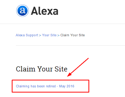 klaim alexa berakhir
