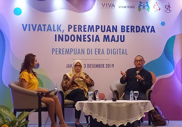 VIVAtalk - Perempuan Berdaya Indonesia Maju di Era Digital