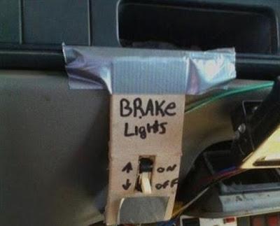 Problème de feu stop : enfin une solution