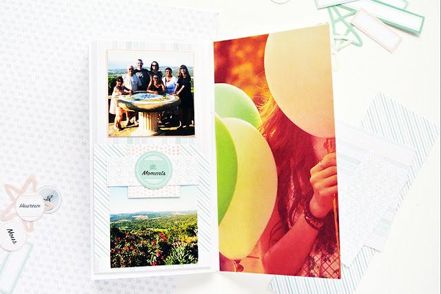 Traveler's Notebook - Collages + Photos - Papier & Moi