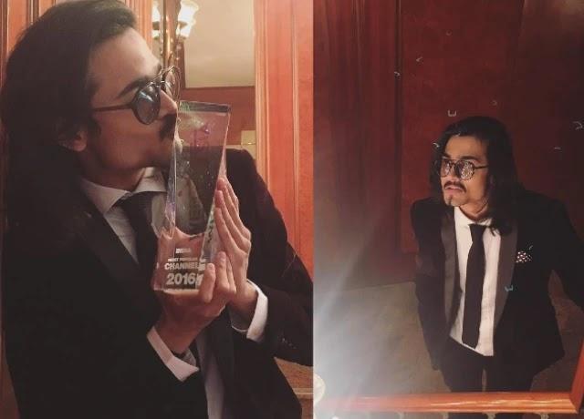 Bhuvan Bam win WebTV Asia awards in 2016