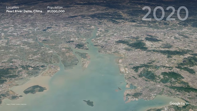 Pearl River Delta, China - 2020