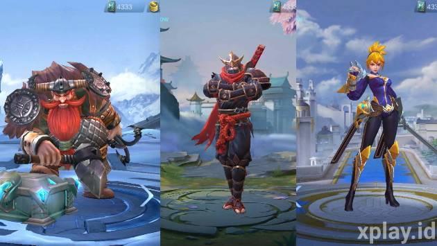 hero kesayangan moonton mobile legends