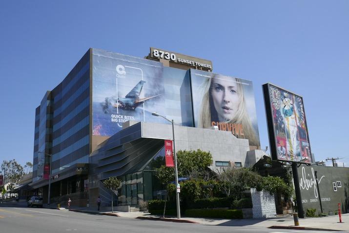 Giant Survive Quibi billboard