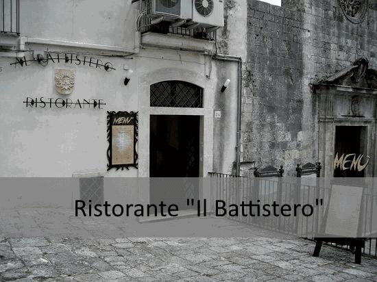 Dove mangiare senza glutine a Foggia: Il ristorante Il Battistero