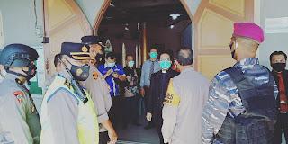 Polres Belawan dan TNI Patroli Bersama Cegah Gangguan Ibadah Jumat Agung