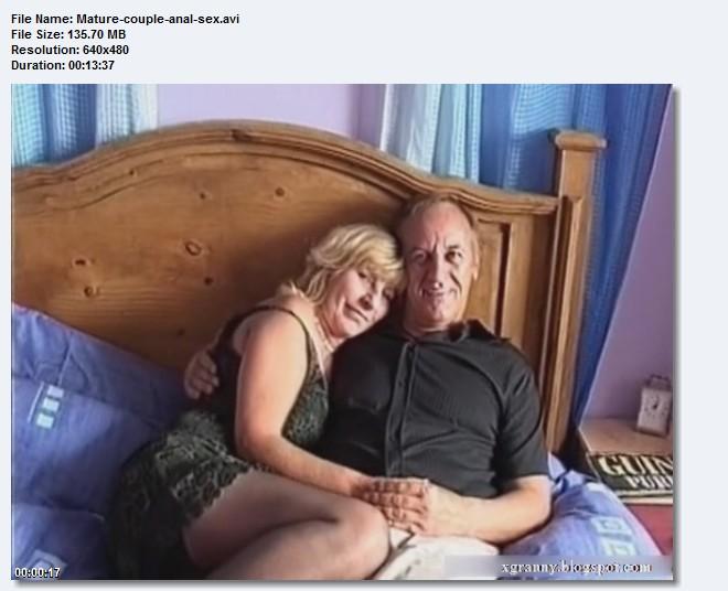 Anal Mature Couple