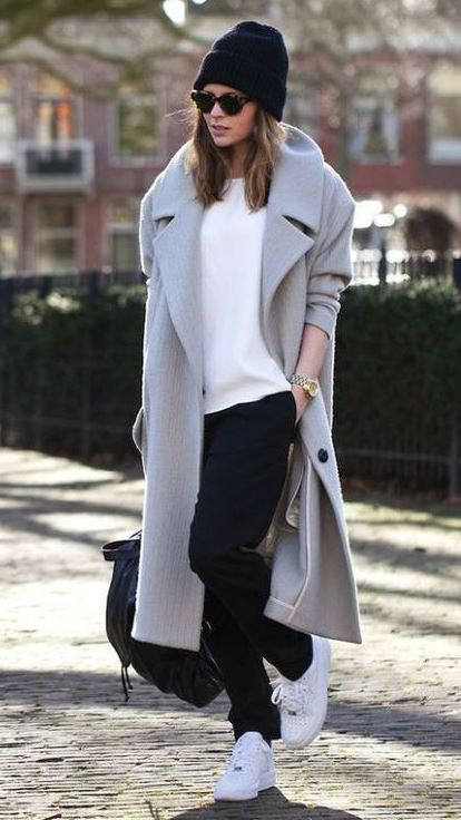 Easy Way to Wear a Coat this Winter