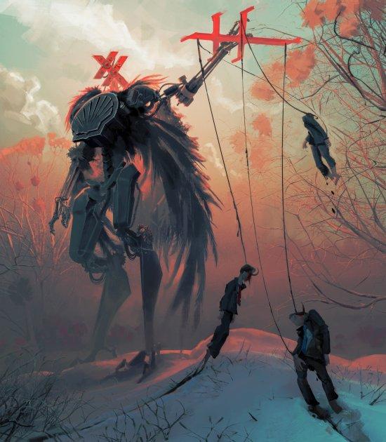 Efflam Mercier artstation arte ilustrações fantasia ficção científica conceitual games filmes