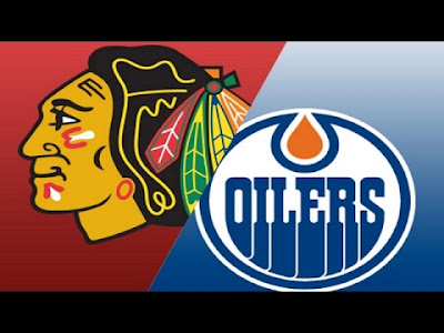 NHL : Oilers-Blackhawks