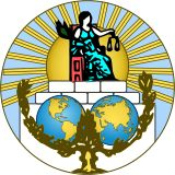 Logo and seal of International Court of Justice, ICJ