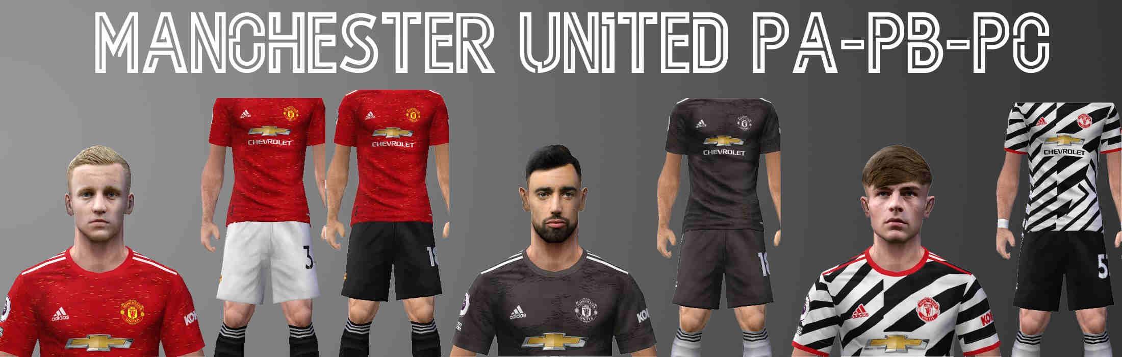 Ultigamerz Pes 6 Manchester United 2020 21 Kits Fix