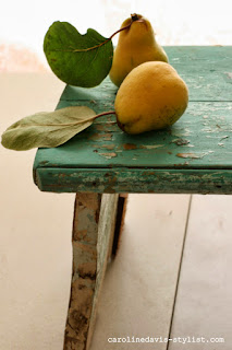 trend daily blog, caroline davis, raw ingredients, quince, food