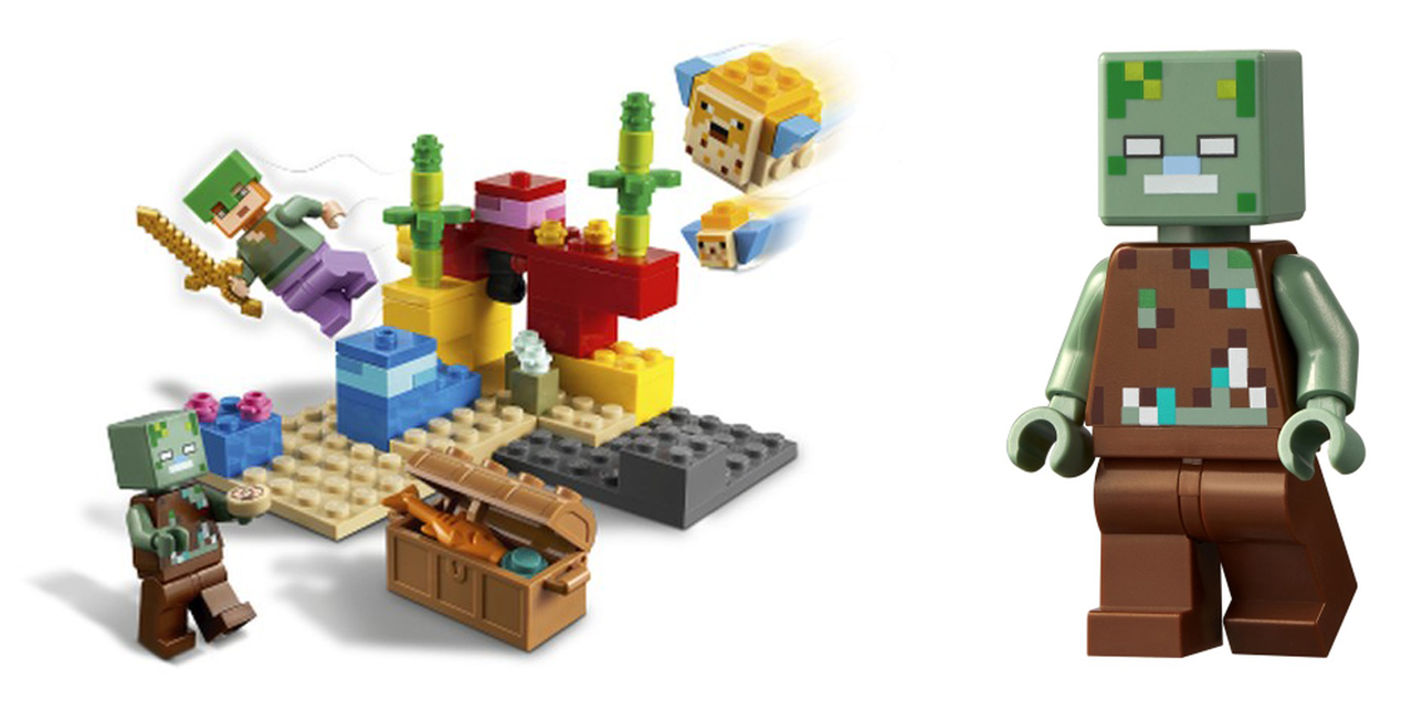2021年レゴ マインクラフト新製品第1弾情報!レゴで世界構築して遊ぼう!