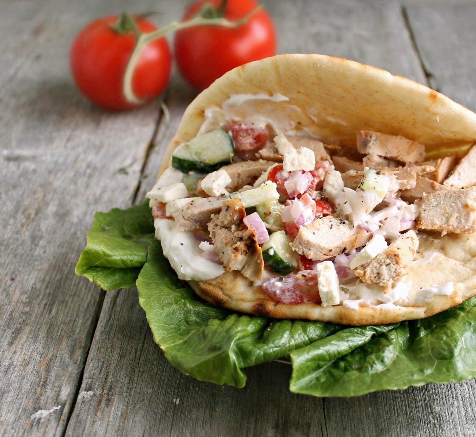 recipe: chicken souvlaki sandwich [23]