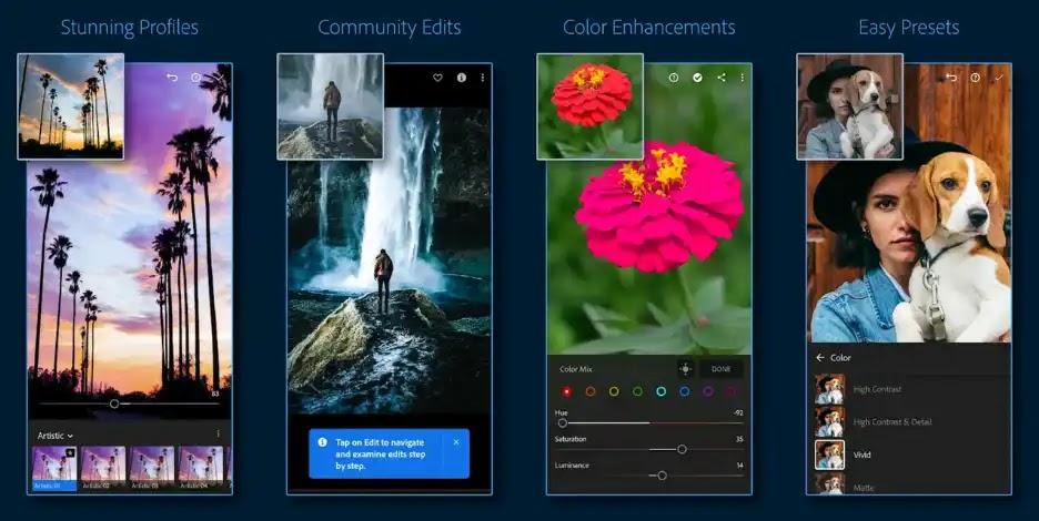 أفضل برامج تعديل الصور للآندرويد: تصميم أحترافي