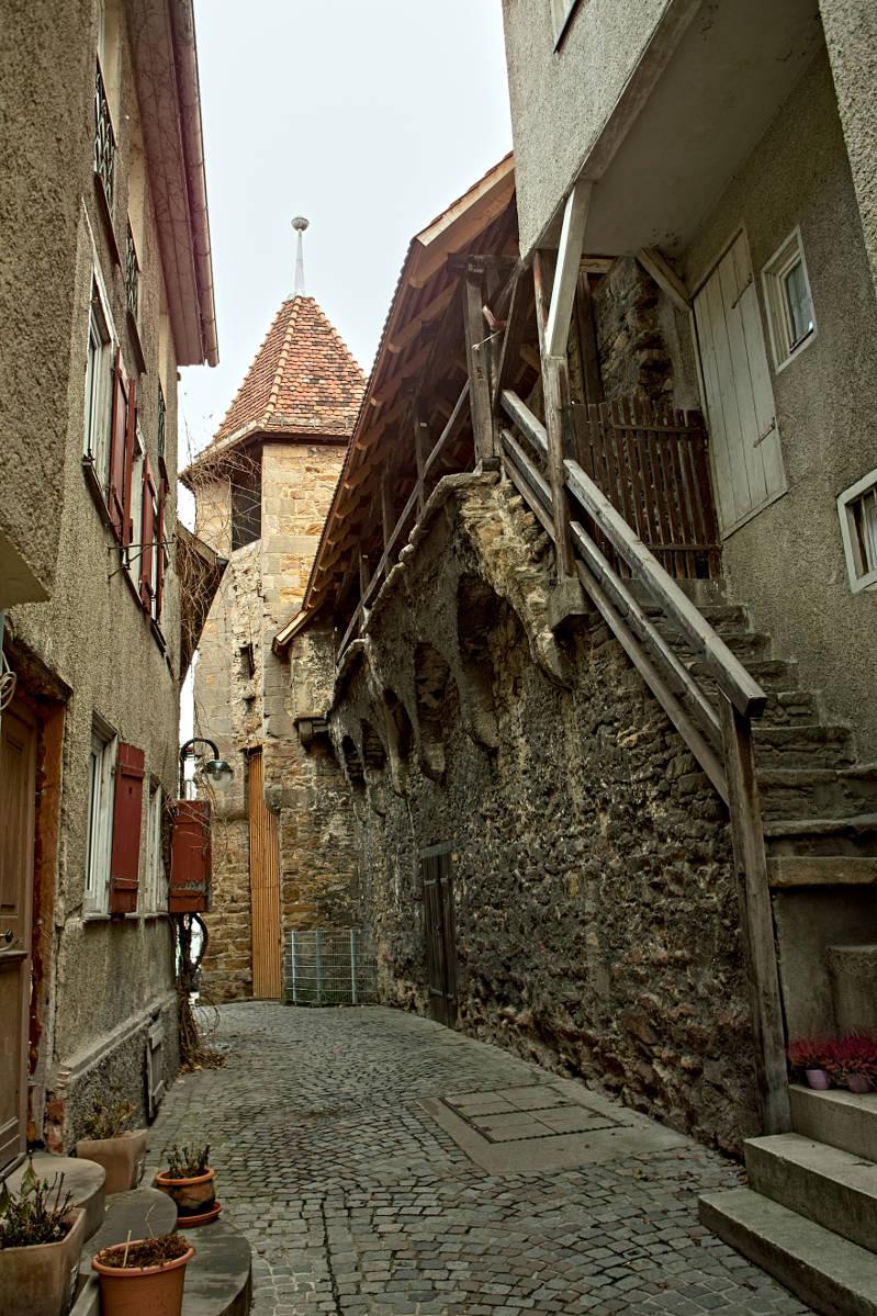 #1 Reste der Reutlinger Stadtmauer