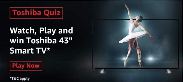 Amazon The Ultimate Toshiba Quiz Answers