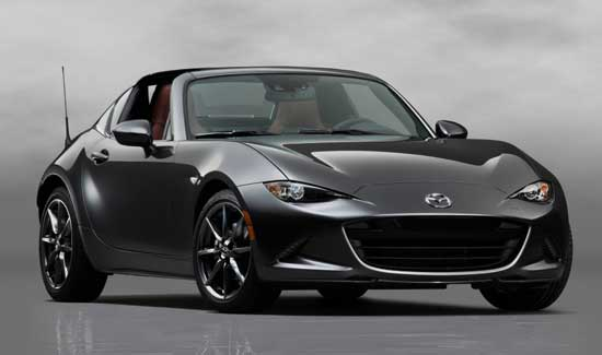 2017 Mazda MX-5 Miata RF Edition has sold out