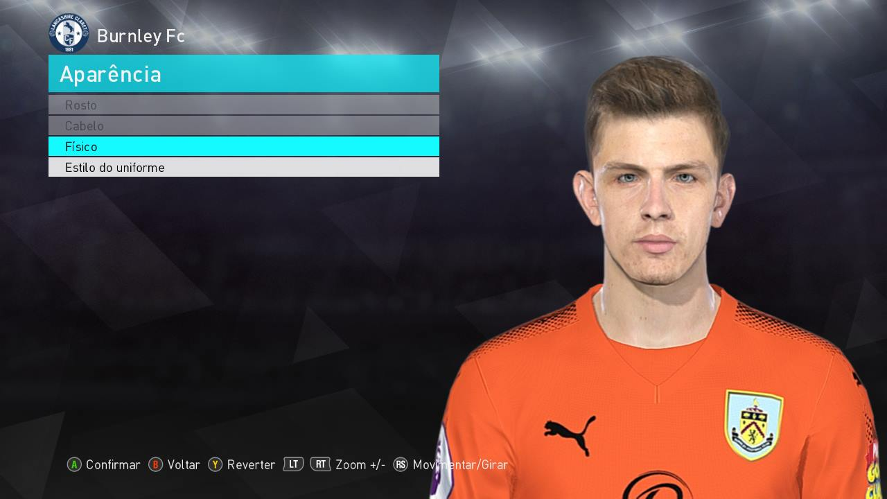 PES 2018 Nick Pope Face by Lucas Facemaker