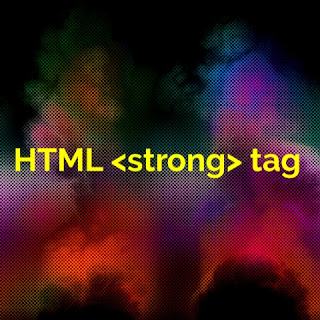 HTML <strong> tag