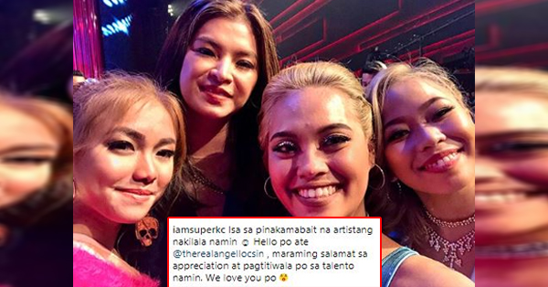 The Maka Girls Tagged Angel Locsin As The Kindest Celebrity In Showbiz