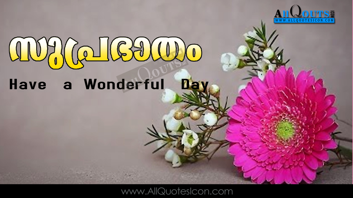 Good Morning Quotes Greetings In Malayalam Hd Wallpapers Best Good