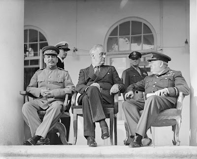 Les trois principaux représentants de l'opposition au nazisme en 1943