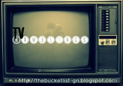 TV Ramblings: My 2012-13 Show Line-Up - The Bucket List