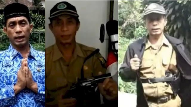Viral ASN di Sukabumi Bawa Pistol saat Bertugas, Ngaku Sering Di-bully dan Dapat Ancaman
