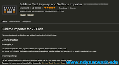 Sublime Text Keymap