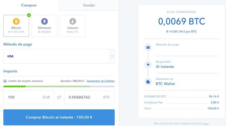 comprar ethereum para adquirir moneda virtual IOT CHAIN ITC