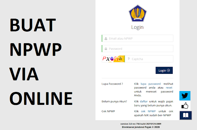 cara buat npwp online