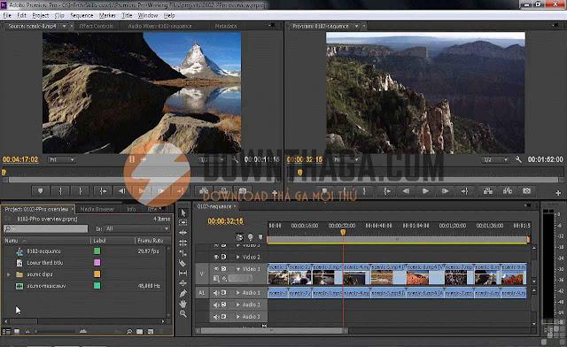 Adobe Premiere Pro CS6 (32/64 bit) Full Crack | T E C H R U M   V N