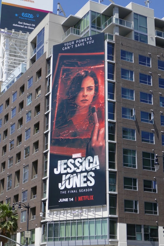 Jessica Jones final season 3 billboard