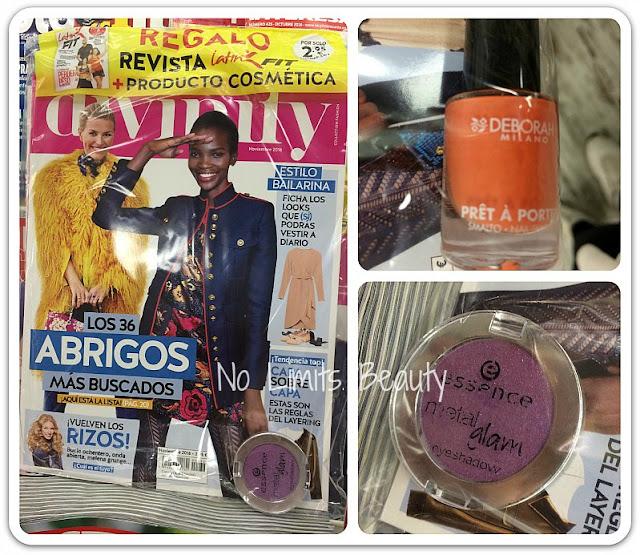 Regalos revistas noviembre 2016: Divinity