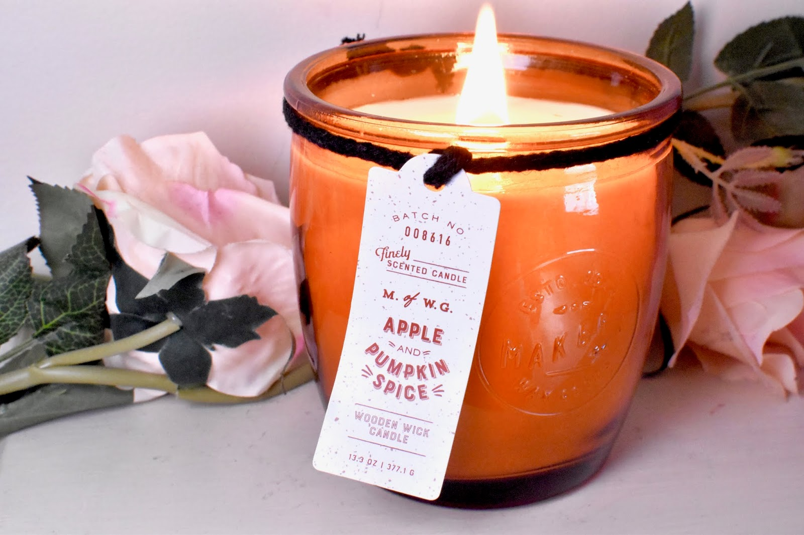 Apple and Pumpkin Spice M of W.G candle