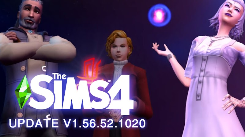 THE SIMS 4 PATCH UPDATE V1.56.52.1020 (HAY 1.56.49)