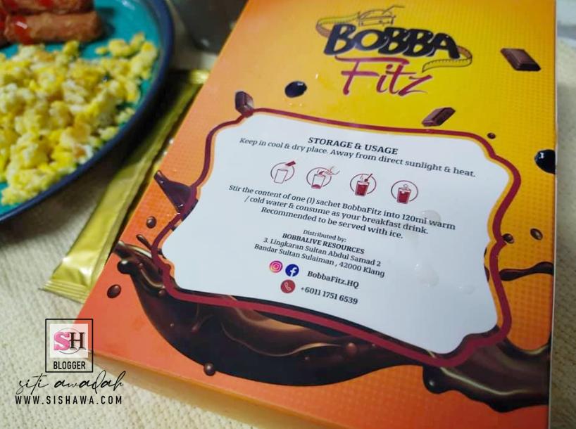 Minuman Diet Bobba Fitz