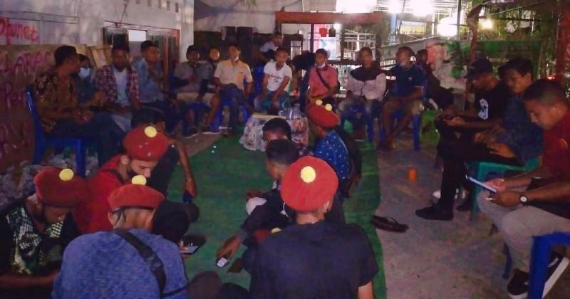 Peringatan Hari Buruh, PMKRI Kupang Deklarasi Posko Perjuangan Buruh NTT