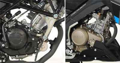 mesin New New CB150R dan New Vixion Advance