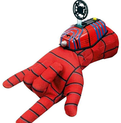 Ultimate Spiderman Gloves with Disc