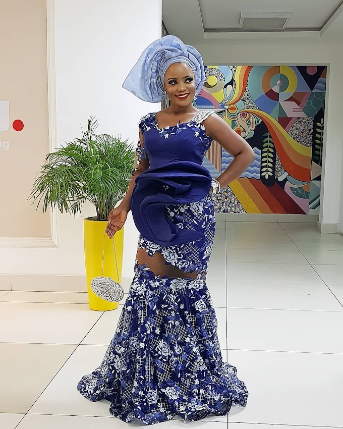 1000 styles of 2019 Trending Skirt and Blouse Ankara Aso Ebi Styles